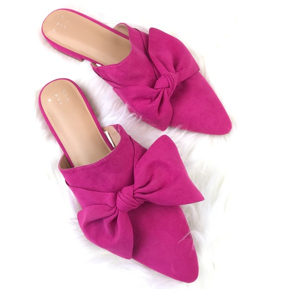 A New Day Hot Pink Mules